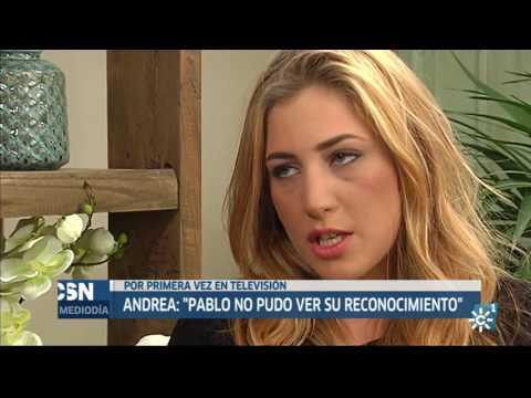 Entrevista a Andrea, novia de Pablo Ráez | Noticias Mediodía Canal Sur