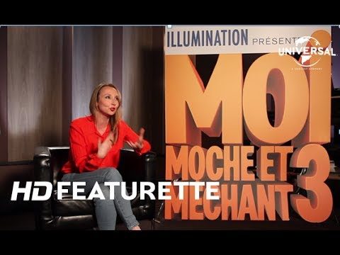 moi moche et m chant 3 featurette lucy par audrey lamy. Black Bedroom Furniture Sets. Home Design Ideas