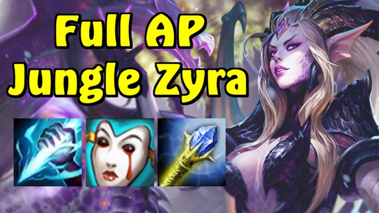 coupe classique 188f3 5a43f JUNGLE ZYRA IST GG!!! | Full AP League of Legends Gameplay