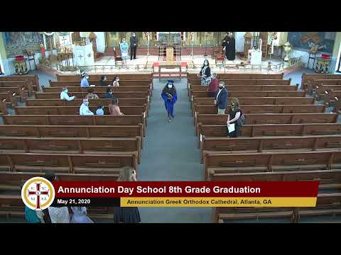20200521–Annunciation Day School 8th Grade Graduation