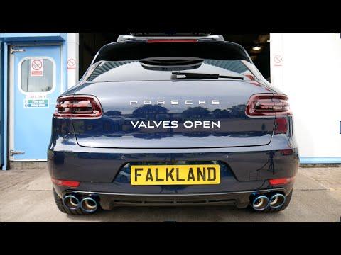 Porsche Macan Turbo Armytrix Valvetronic Exhaust