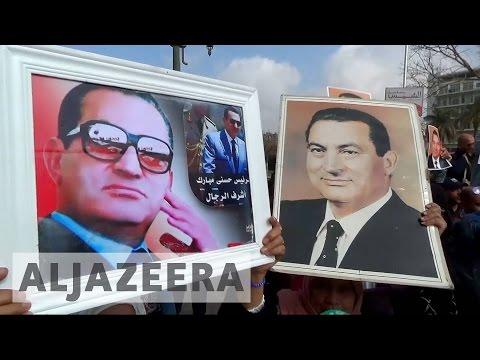 Egypt's court acquits former president Hosni Mubarak