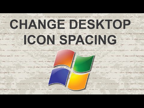 Adjusting Desktop Icon Spacing In Windows 7