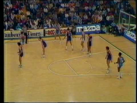 1983 NBL Canberra Cannons vs Nunawading Spectres