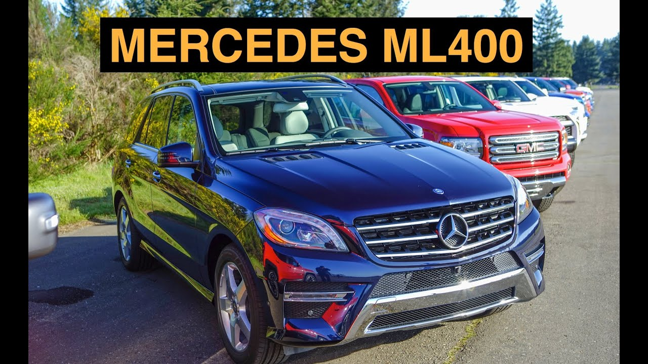 2017 Mercedes Ml400 4matic Off Road And Track Review