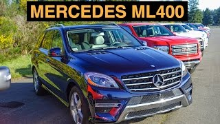 2015 Mercedes ML400 4Matic - Off Road And Track Review