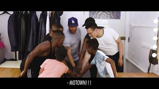 Young Michael Jackson's interview The Temptations | Motown The Musical