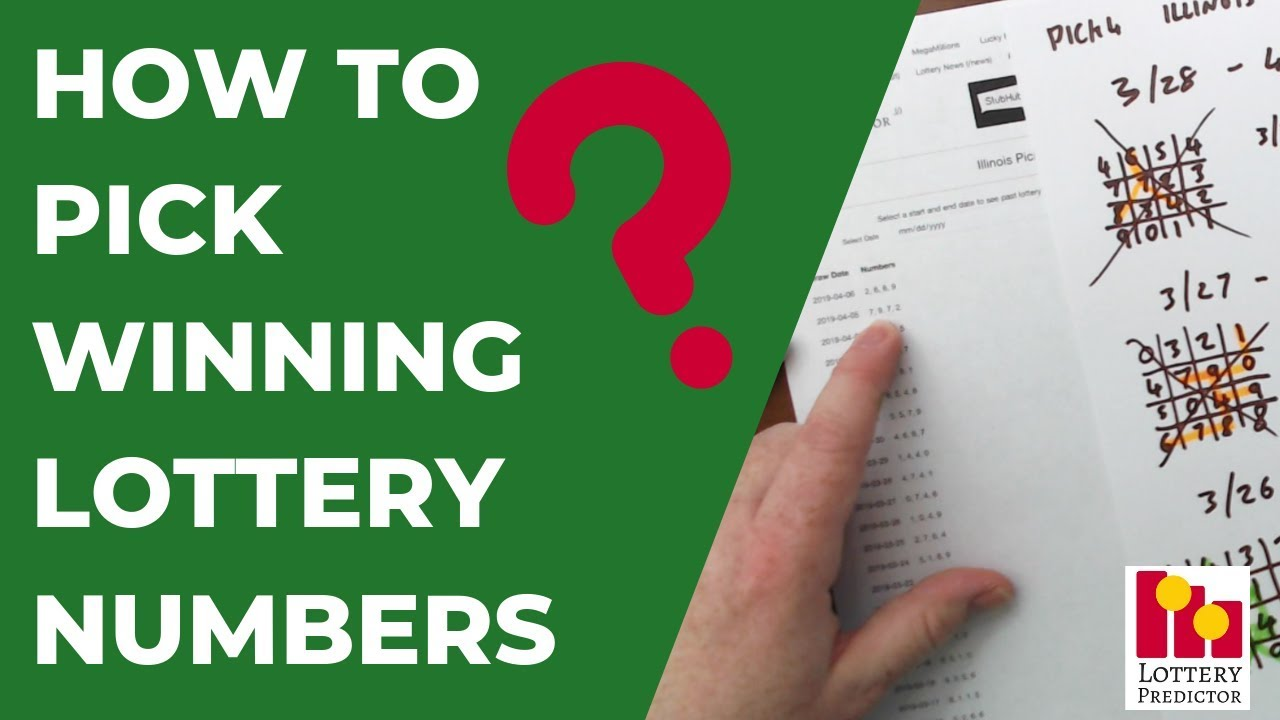 How To Find Winning Lottery Numbers Youtube