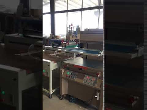 screen printer + arm unloading+hot metal powder + IR tunnel
