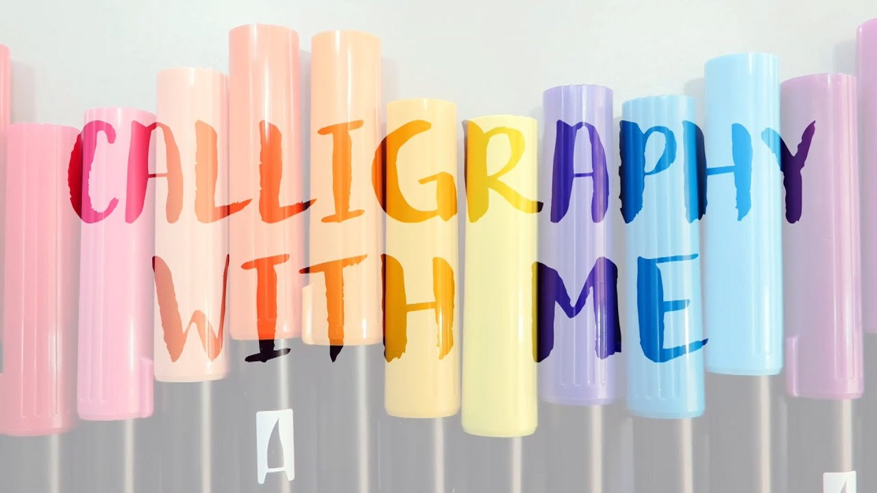 Calligraphy With Me 1