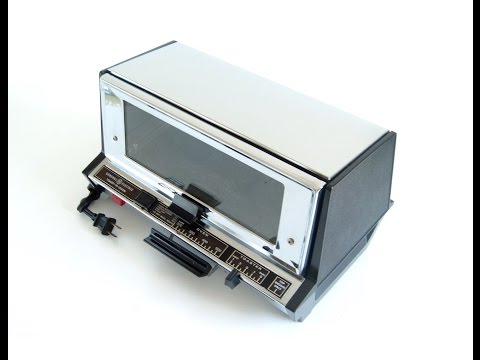 Hamilton toaster oven broiler slice 6 beach white