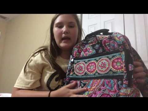 Vera Bradley backpack review