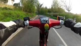 an early ride out of the diy efi honda c90 project