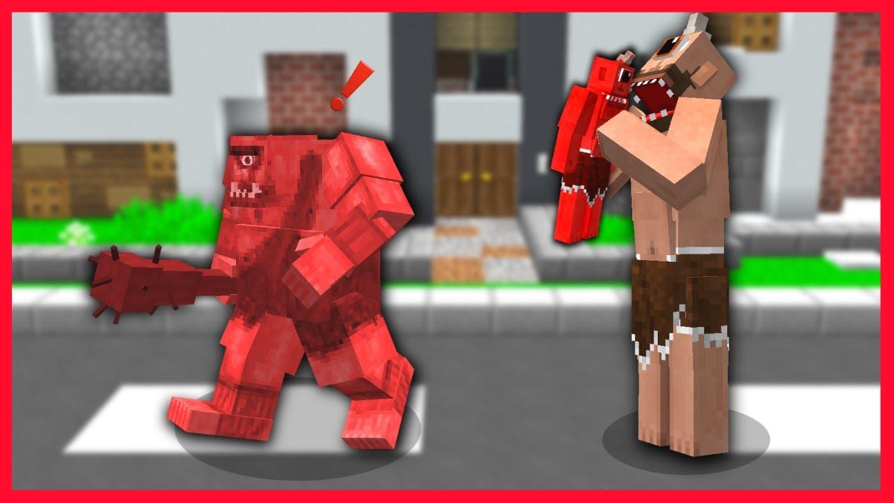 TEPEGÖZ KÖTÜ İKİZLERİNİ YEDİ! 😱 - Minecraft