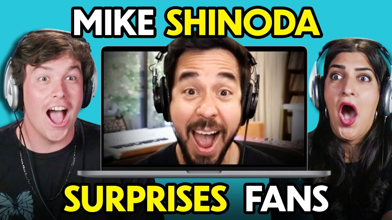 Fans React To And MEET Mike Shinoda of Linkin Park