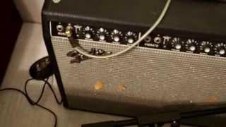 wiz pedal d into fender twin reverb blues