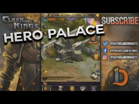 HERO PALACE IS VERY IMPORTANT - HERE IS WHY - CLASH OF KINGS