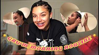 GRWM/MORNING ROUTINE | SAM'S LIFE