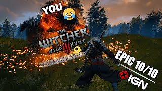 UPDATED ULTIMATE WITCHER EXPERIENCE 4.0 - Witcher 3 Enhanced Edition