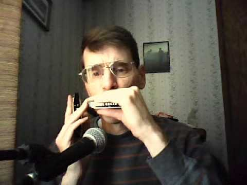 Ave Maria on Melody Maker harmonica with tabs