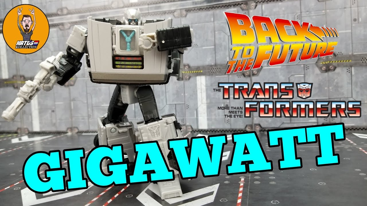 Transformers Back to the Future Crossover GIGAWATT Review Kato's Kollection