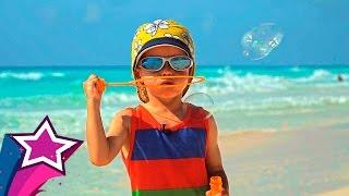 Мыльные Пузыри на Берегу Карибского Моря Супер Развлечение Для Детей и Максима Soap Bubbles игры