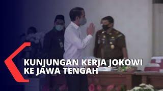 Kunjungi Jawa Tengah, Presiden Jokowi Periksa Penanganan Corona
