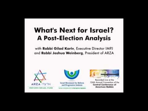 What's Next for Israel? A Post-Election Analysis