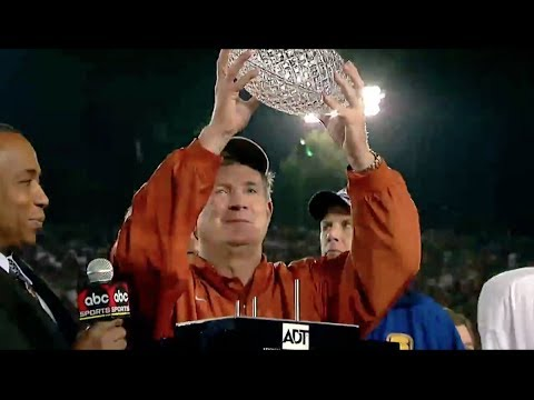 A look back: Mack Brown at Texas [Jan. 31, 2014]