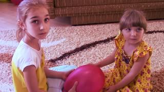 МІНЯЄМОСЬ ТІЛАМИ - ми посварились! Паранормальний обмін! Смішне відео для дітей МИ ПОМІНЯЛИСЬ ТІЛАМИ