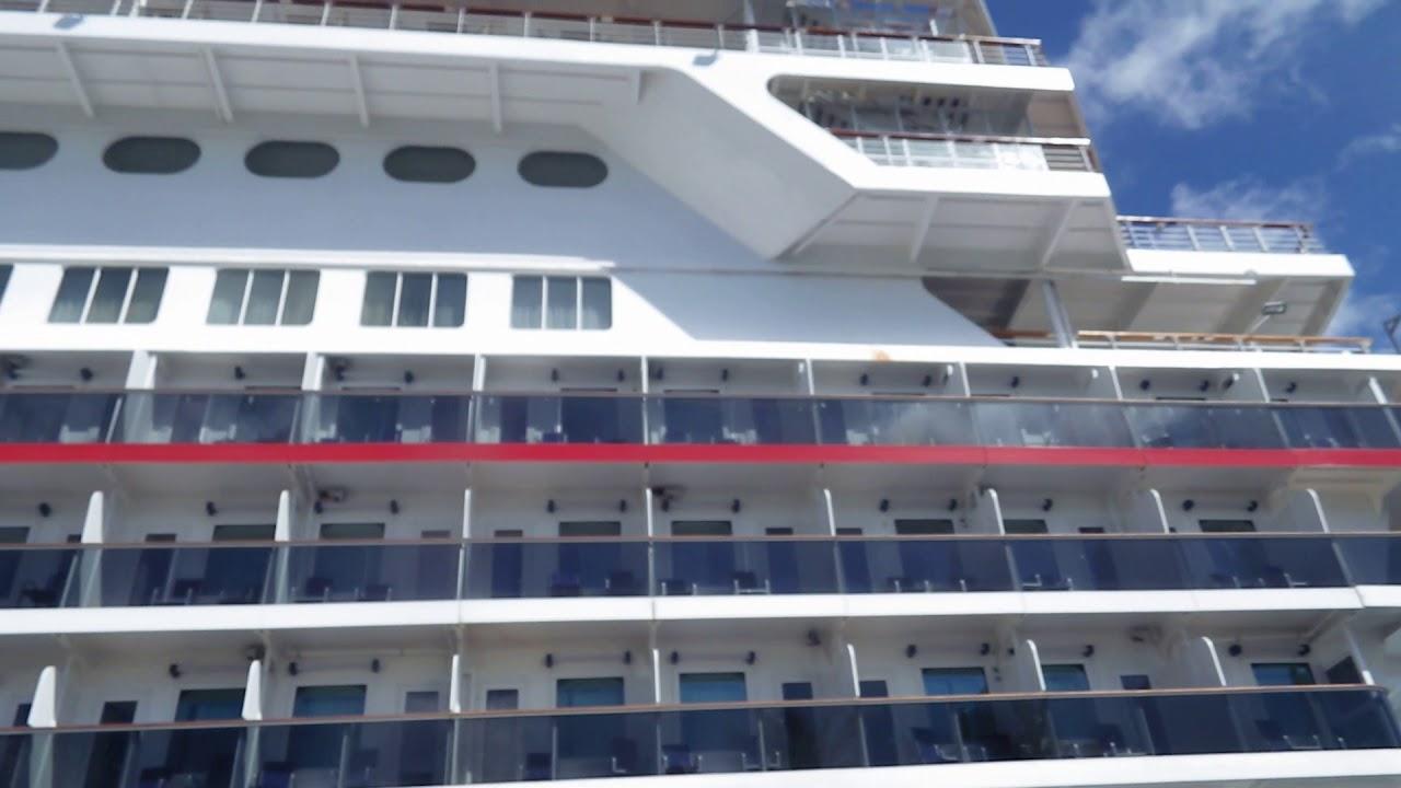 Carnival Elation Outside Balconies YouTube - Elation cruise ship rooms