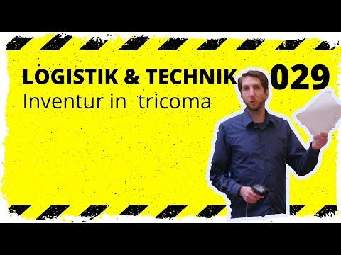logistik&technik #029 Inventur in tricoma - Welche Möglichkeiten gibt es?
