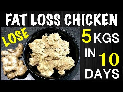 Weight Loss Chicken Recipe | Lose 5 Kgs in 10 Days with Chicken | Oil Free Healthy Chicken Recipes
