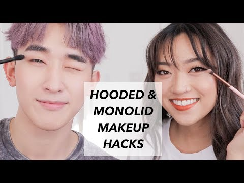 Hooded and Monolid Makeup Hacks ft Ivan Lam