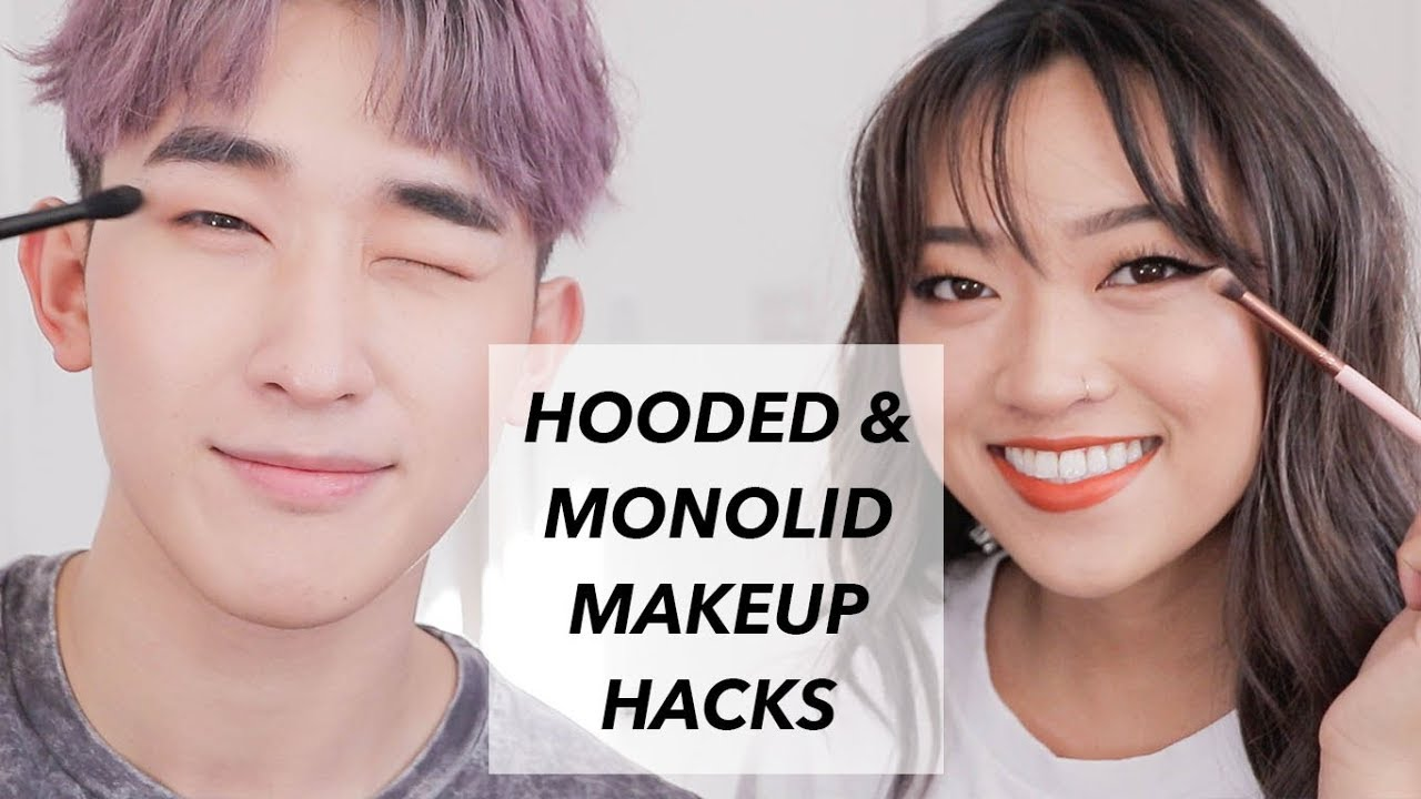 e995104ee0d Hooded and Monolid Makeup Hacks ft Ivan Lam. Sandy Lin
