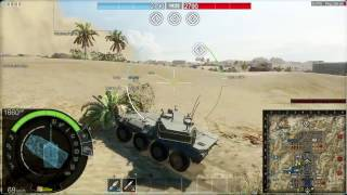 Laggy (Armored) Warfare : Global Lag (Ops) Cent 120 Gameplay