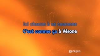 Karaoké Vérone - Roméo et Juliette * Mp3