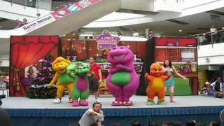 Barney Magical Christmas Performance Famous I Love You, You Love Me, Song