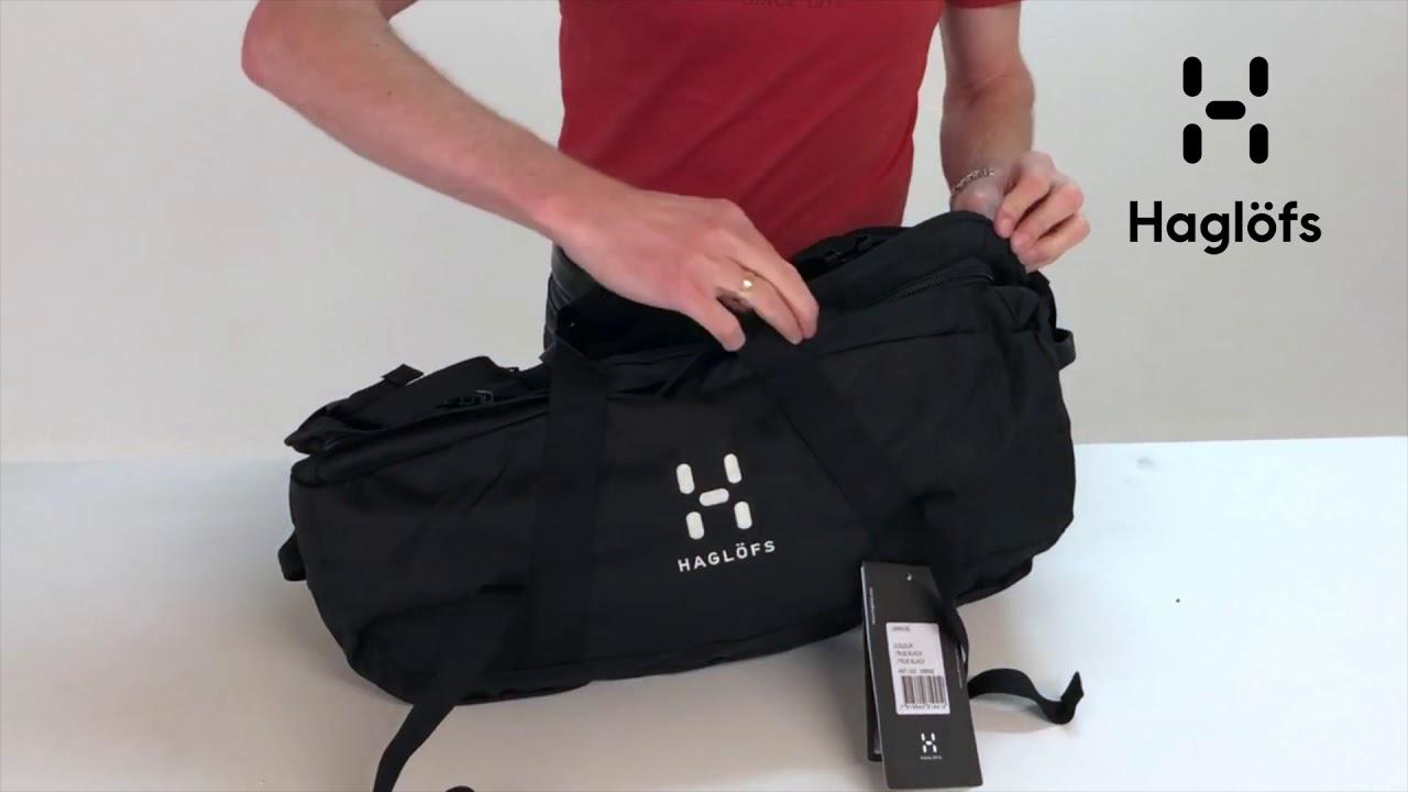 Haglofs Cargo 60 Full Product Presentation Demonstration Youtube