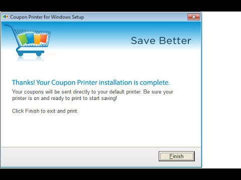 1. Uninstall CouponFactor adware from Windows Control Panel