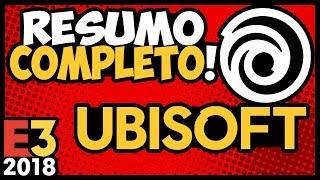 TUDO QUE ROLOU na UBISOFT 2018: A.C. ODYSSEY / The DIVISION 2 & mto MAIS! #E32018