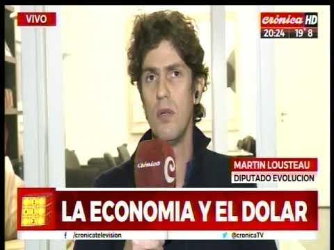 La economía y el dólar, con Martín Lousteau