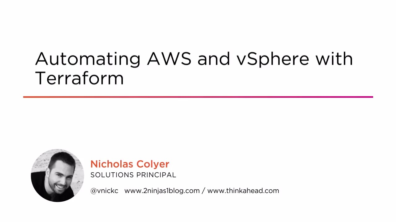 Course Preview: Automating AWS and vSphere with Terraform