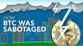How Bitcoin (BTC) Was Sabotaged | Lightning Network Explained