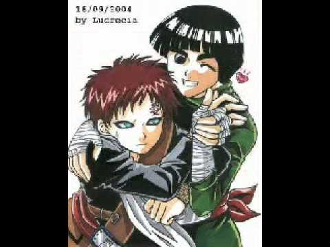 GAARA x ROCK LEE - YouTube Gaara And Rock Lee Yaoi