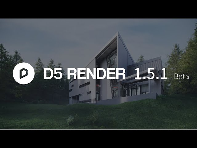 D5 Render beta 1.5.1 Trailer