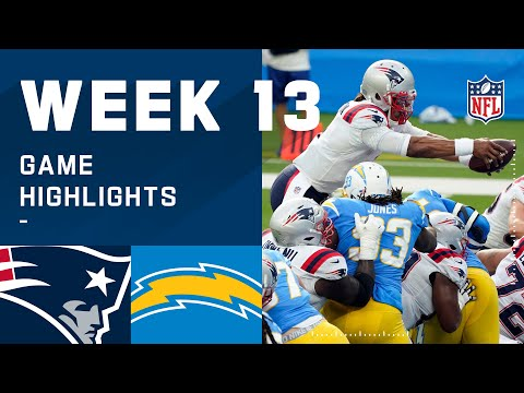 Patriots vs. Chargers Week 13 Highlights   NFL 2020