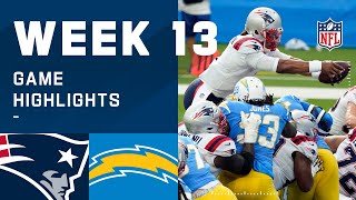 Patriots vs. Chargers Week 13 Highlights | NFL 2020