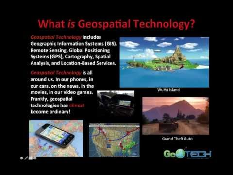 Introduction To Geospatial Science & Technology (GIS&T): Complete Lecture.