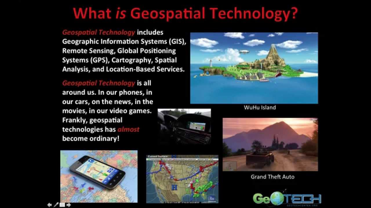 Download Introduction to Geospatial Science & Technology (GIS&T): Complete lecture.